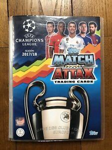 Match Attax Champions League Topps 2017 2018 Completo Meno 1