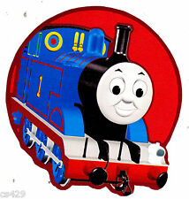 "4.5"" Thomas the train tank blue red circle prepasted wall border cut out"
