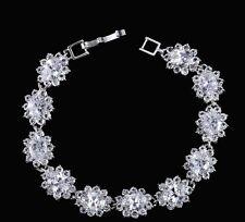 9ct Diamond Chevron Women's Bracelet in Gold Tone