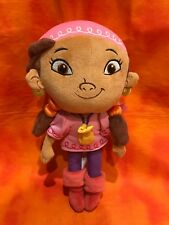 Disney Jake and the Neverland Pirates Izzy Plush Doll Pirate Girl 12 Inch