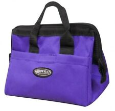 PURPLE Durable Nylon Mini Tote Bag! GREAT STORAGE by Showman! NEW HORSE TACK!