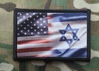 American Israeli Flag Morale Patch