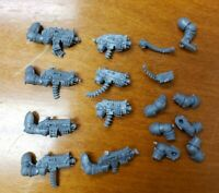 Warhammer 40k NCSM Chaos Space Marine Bits: Heretic Engraved Bolters x8