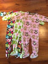 Lot Of Three Pair Of girls Pajamas  3t