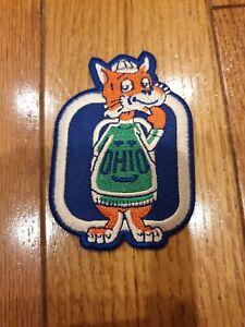 "Ohio University Bobcats  Embroidered Iron On Patch 3.5"" X 2.5"""