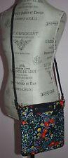 NWT Marc by Marc Jacobs Preppy Nylon Sia Iris Multi-Color Floral Crossbody Purse