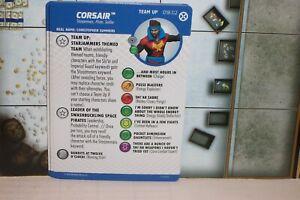 CORSAIR # 018.02 Team Up House of X Marvel Heroclix