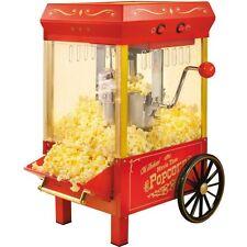 10 Cup Retro Countertop Popcorn Machine, Old Fashion Home Kettle Pop Corn Maker