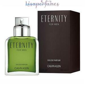 Eternity by Calvin Klein for Men 3.3oz Eau De Parfum Spray NIB