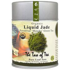 THE TAO OF TEA 100% ORGANIC JAPANESE POWDERED MATCHA GREEN TEA LIQUID JADE