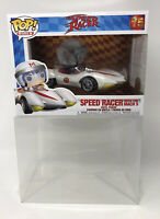 FUNKO POP RIDES SPEED RACER WITH MACH 5 BUNDLE POPSHIELD POP BOX PROTECTOR NEW