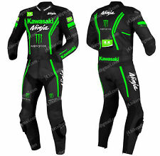 Courses Combinaison de Moto en Cuir Hommes Moto en Cuir Veste Pantalon