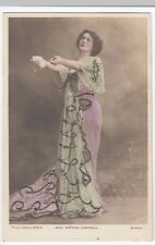 Miss Patrick Campbell, RP PPC, Unposted, By Philco, Glitter Embellishment