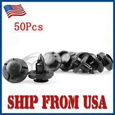 US 50Pcs BLK Panel Retrainer Liner Rivet Push Clips For Nissan Altima Sentra FM
