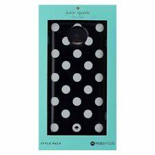 Kate Spade New York Style Pack Mod for Moto Z Droid - Black/White Dots