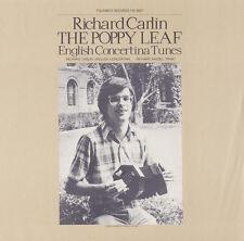Richard Carlin - Poppy Leaf: English Concertina Tunes [New CD]