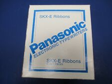 Panasonic Electronic Typewriters 5 Piece Original Packaging SKX-E Ribbons VS6