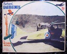 DAWN PATROL Howard Hawks WWI RFC Aviation Fighter Pilot War MOVIE LOBBY CARD