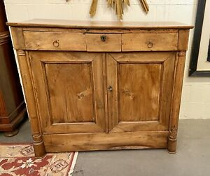 Antique French Provincial Cherry Sideboard Buffet Server | 19th cen.
