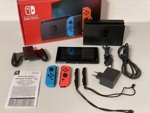 Nintendo Switch Konsole 32GB -  Neon-Rot / Neon-Blau