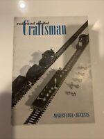 Railroad Model Craftsman Magazine August 1951