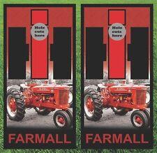 Farmall International Harvester Cornhole Wrap Decals Bag Toss 3M Vinyl 24x48