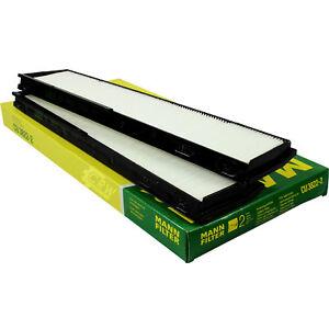 Original MANN-FILTER Innenraumluft Pollenfilter Innenraumfilter CU 3822-2