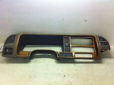 1997-2000 Chevy K3500 Speedometer Instrument Face Plate Bezel Wood Grain #AK1595