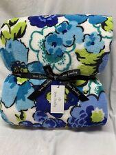 "Vera Bradley Super Soft Throw Blanket 80 x 50""  NEW Blueberry Blooms Home"