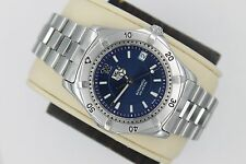 Tag Heuer 2000 AUTOMATIC Professional WK2117 Watch Men NAVY BLUE MINT CRYSTAL