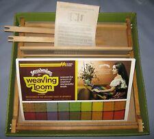 """Hobby Time Yarnbenders 20"""" Weaving Loom Vintage Yarn Craft Yarn Benders 1972"""