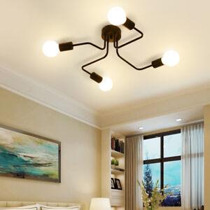 Kitchen Black Chandelier Lighting Home Pendant Light Bar Modern Ceiling Lights