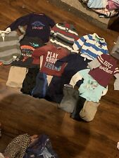 Mostly Carters Boys 4t Fall Winter School Lot Shirts Pants