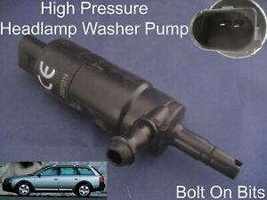Scheinwerfer / Unterlegscheibe Spray Reinigung Pumpe Audi A6 Allroad 2000 Zu