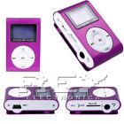 Mini Reproductor MP3 Pantalla LCD y Enganche de Clip, Music Player, Colores vr
