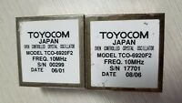 Low phase noise Double Oven OCXO  sinewave  TOYOCOM TCO-6920F2 10MHZ