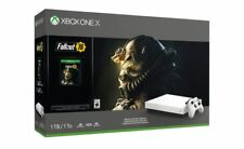 Xbox One X Robot White Special Edition 1TB - Fallout 76 Bundle