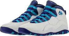 2016 Nike Air Jordan 10 X Retro SZ 5Y Charlotte Hornets Concord Blue 310806-107