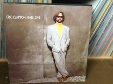 "eric clapton - bad love - excellent condition 12"" vinyl"