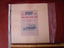Ritaglio pubblicitario - FIAT Fabbrica Italiana Automobili Torino - vintage