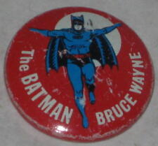 1966 Batman - Bruce Wayne Tin Litho Pin #2