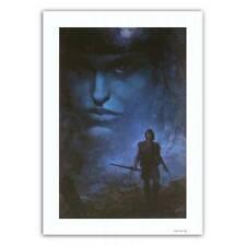Affiche  ROSINSKI Thorgal Visage bleu dans les nuages 50x70 cm