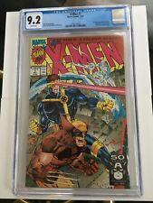 X-MEN #1 CGC 9.2 1991 JIM LEE CLAREMONT MARVEL COMICS