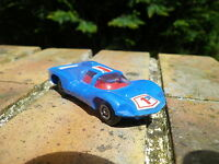 Mini CHAMPION 1/60 : CHAPARRAL 2D bleu très bon état, pas de boite.
