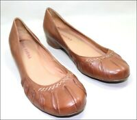 SAN MARINA ballerines cuir marron pointure 38 TBE