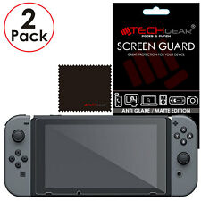 2 Pack of Matte Anti Glare TECHGEAR Screen Protector Covers for Nintendo Switch