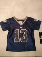 NFL Girls Blue New York Giants Odell Beckham Jr #13 Football Jersey sz 12 months
