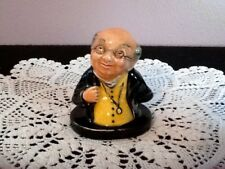 Royal Doulton Mr. Pickwick Miniature Bust Dickens Made In England 8316 Vintage