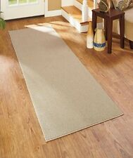 "Sand Extra-Wide Extra-Long 28"" X 140"" Nonslip Runner Rug Hallway Home Decor"