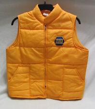 NAPA auto parts - Cap 'n Jac action advertising- zip up pouff vest mens L ~ NWOT